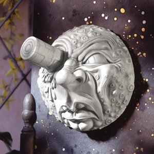 Trip to the Moon Wall Sculpture