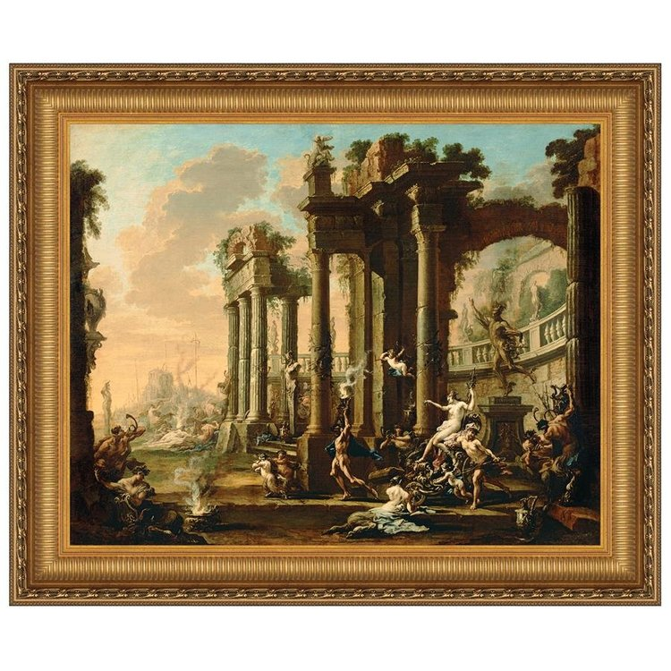 View larger image of The Triumph of Venus, 1730: Canvas Replica Painting