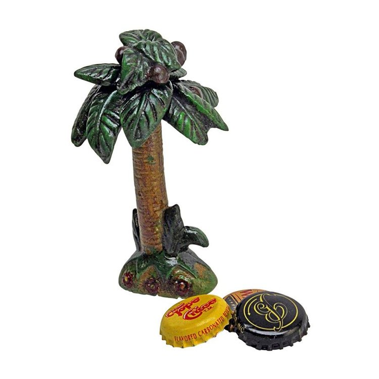 View larger image of Tropical Coconut Tree Cast Iron Bottle Opener