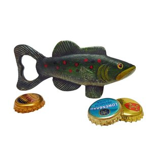 Trout Tales Cast Iron Bottle Opener: Set of Two