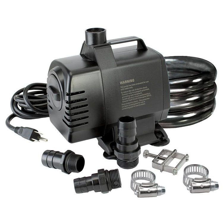View larger image of UL-listed, indoor/outdoor, 1650 GPH Pump Kit
