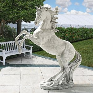Unbridled Power Equestrian Horse Statue: Life Size