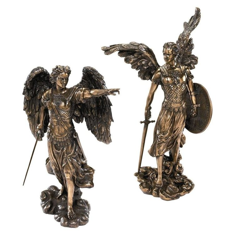 View larger image of Uriel and Raphael: The Archangel Sculptures