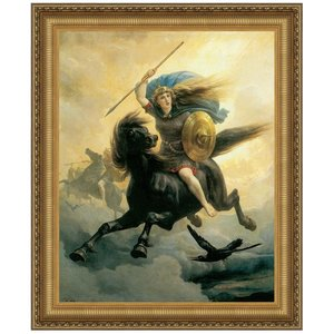 Valkyrie, 1865: Canvas Replica Painting: Small