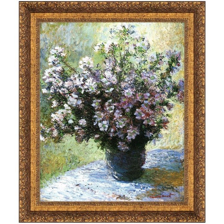 View larger image of Vase of Flowers, 1882: Canvas Replica Painting: Grande