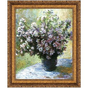 Vase of Flowers, 1882: Canvas Replica Painting: Large