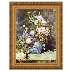 Vase of Flowers, 1886: Canvas Replica Painting: Large