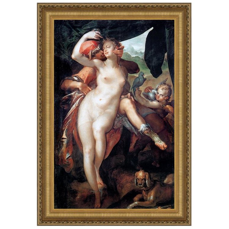 View larger image of Venus and Adonis, 1597: Canvas Replica Painting
