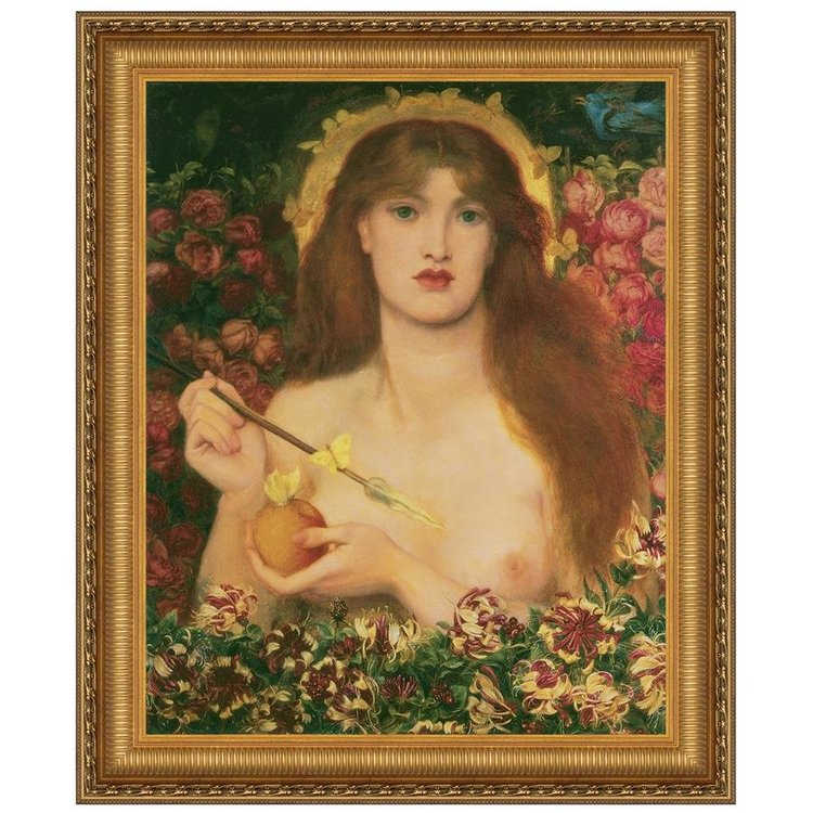 View larger image of Venus Verticordia 1868: Canvas Replica Painting: Small