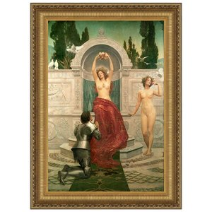 In the Venusberg, 1901: Canvas Replica Painting: Small