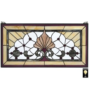 Victoria Lane Tiffany-Style Stained Glass Window