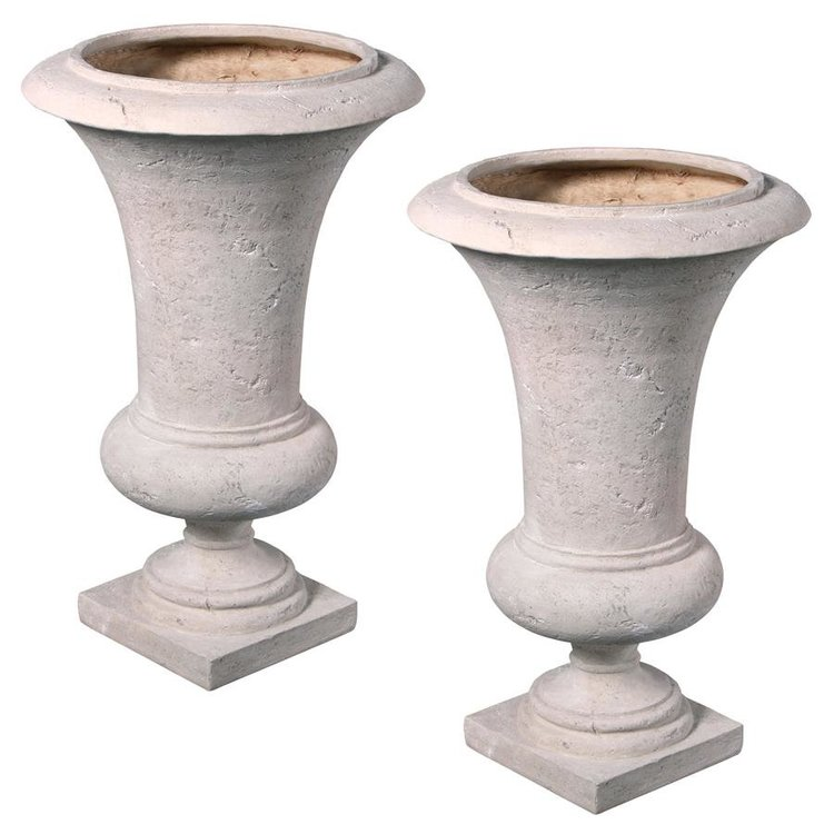 View larger image of Viennese Architectural Garden Urn: Medium Set of Two