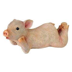 Vogue the Lounging Pig Statue