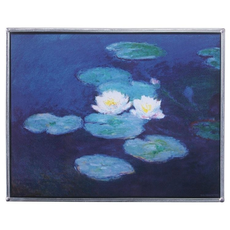 View larger image of The Water Lilies, 1889 Art Glass