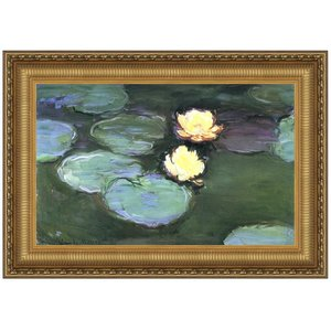 Water Lilies (Nympheas), 1898: Canvas Replica Painting: Small