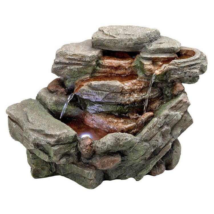 View larger image of Waterfall Creek Cascading Tabletop Fountain