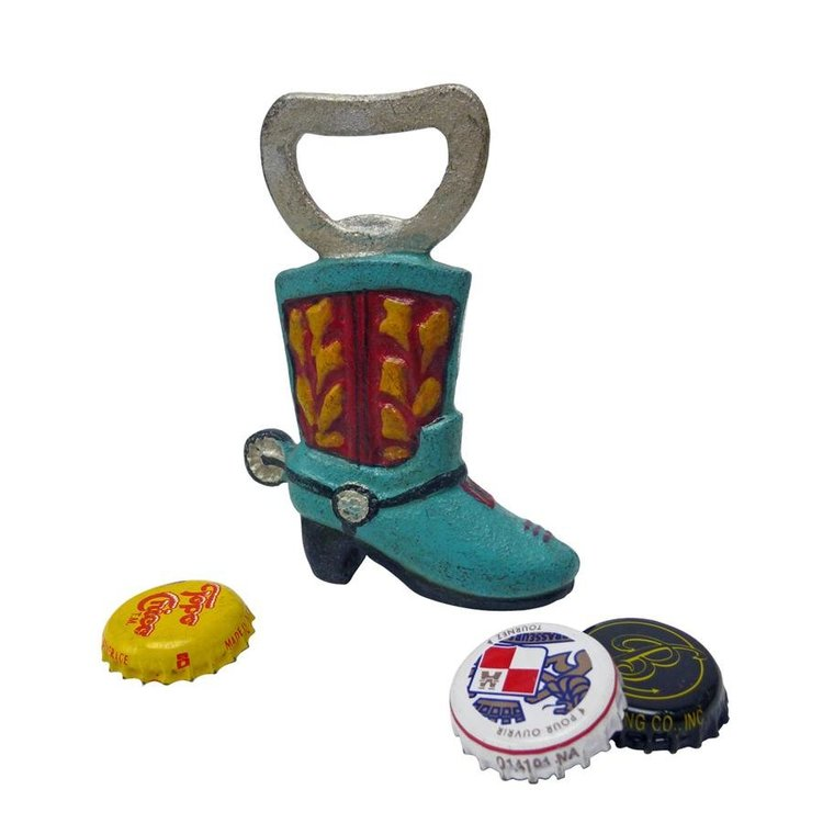 View larger image of Western Cowboy Boot Cast Iron Bottle Opener