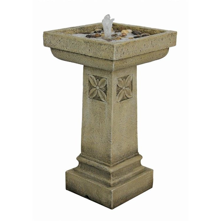 View larger image of White Chapel Manor Pedestal Garden Fountain