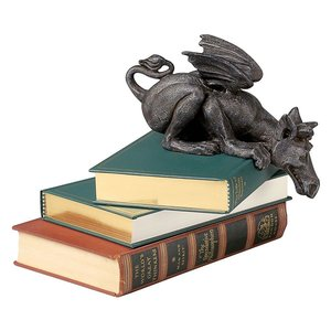 Whittingford the Chagrined Sitting Dragon Sculpture