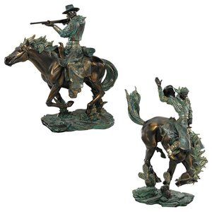 The Wild West Statues: Set of Two