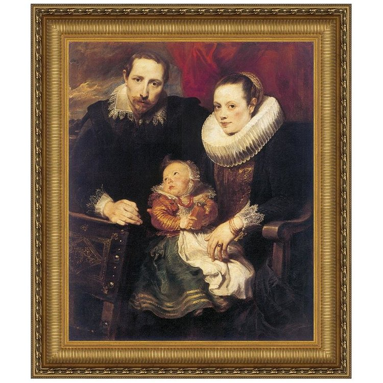 View larger image of Wildens Family Portrait, 1621: Canvas Replica Painting