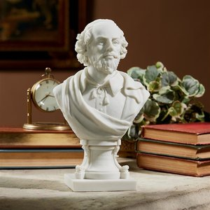 William Shakespeare Bonded Marble Bust