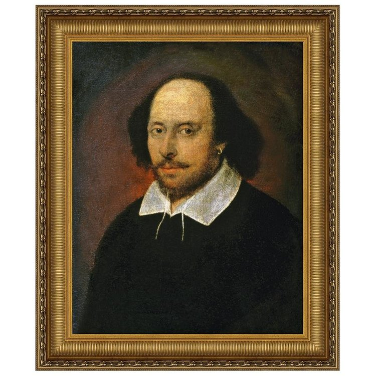 View larger image of William Shakespeare, Canvas Replica Painting