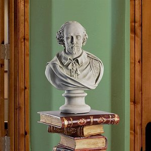 William Shakespeare Sculptural Bust: Large