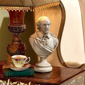 William Shakespeare Sculptural Busts