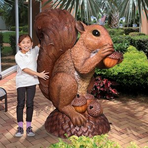 Wirral Enormous Squirrel Statue