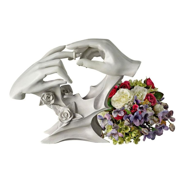 View larger image of With This Ring Wedding Statue