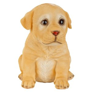 Yellow Lab Puppy Partner Collectible Dog Statue