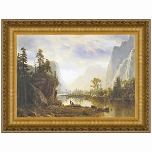 Yosemite Valley, 1863 Canvas Replica Painting: Large