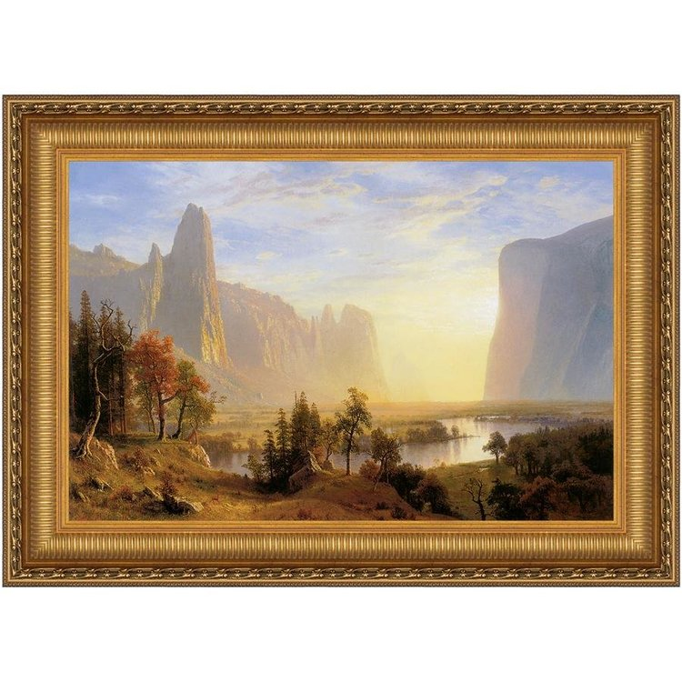 View larger image of Yosemite Valley, 1868: Canvas Replica Painting