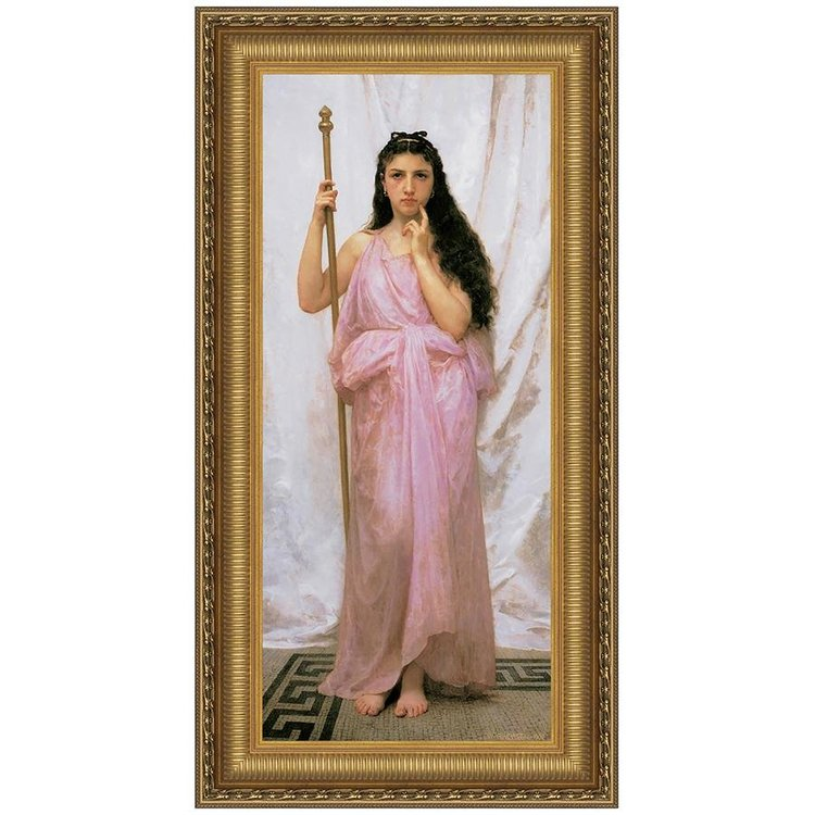View larger image of Young Priestess, 1902: Canvas Replica Painting