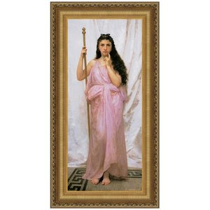 Young Priestess Canvas Painting Small