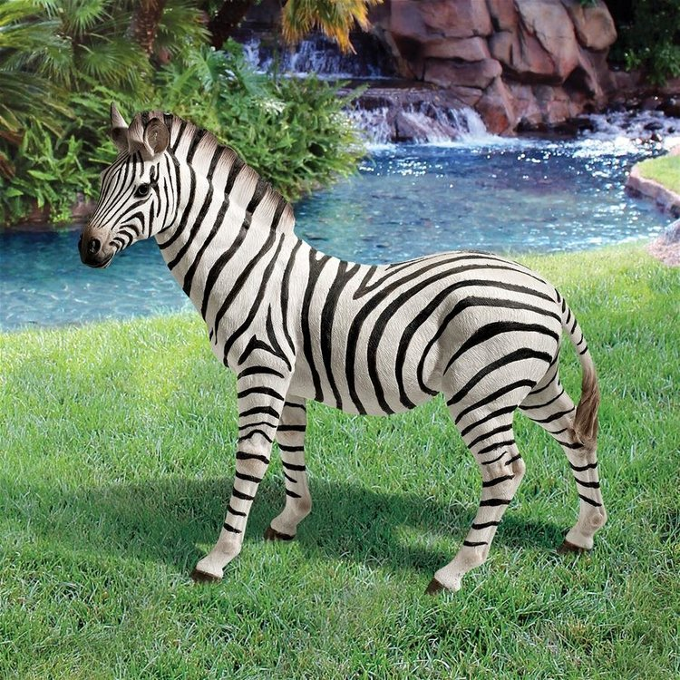 View larger image of Zora, the Zebra Statue